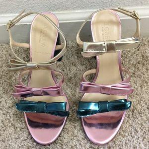 Stella bow heels